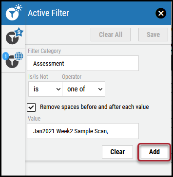 Active Filter - Add Button Location-1
