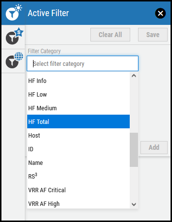 Groups Page - Filters