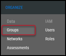 Groups Page - Groups Page Location
