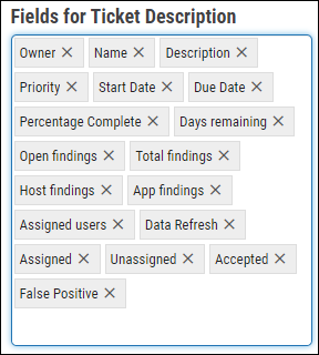Jira Connector Guide - Completed Fields for Ticket Description