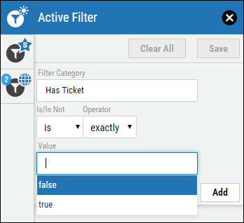 Jira Connector Guide - Has Ticket Filter