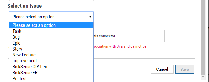Jira Connector Guide - Select Issue