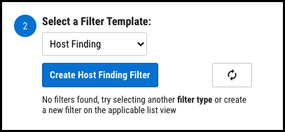 Playbooks - Select Filter Template