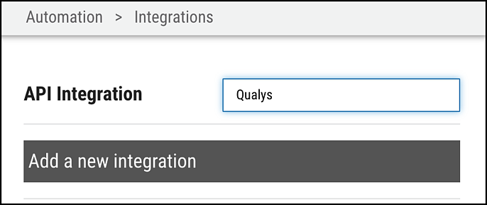 Qualys Asset Connector - Search for Qualys