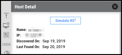 RS3 Simulator - Simulate RS3 Button