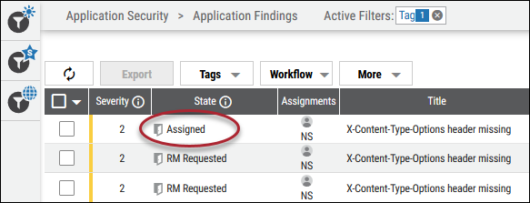 Remediation Reject - State Changed to Assigned