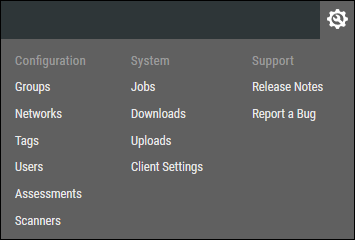 Settings Menu - Overview