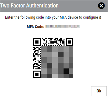 Two-Factor Authentication - QR Code
