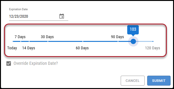 Workflow Approve - Select Date from TImeline